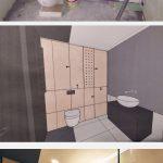 Kúpeľňa pred a po