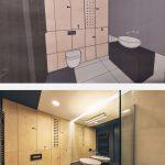 Kúpeľňa nákres