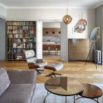 Obývačka s atypovým mobiliárom