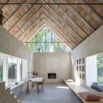 Otvorený priestor bez stropu