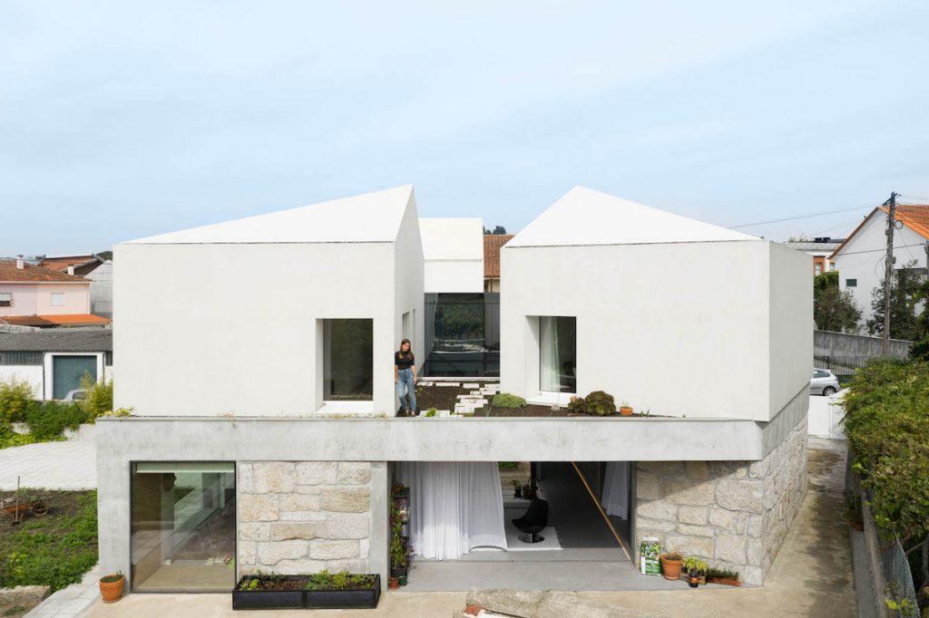 Intímna záhradka na streche