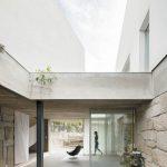 Spojenie domov a terasa
