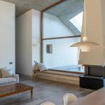 Presklenie moderného domu