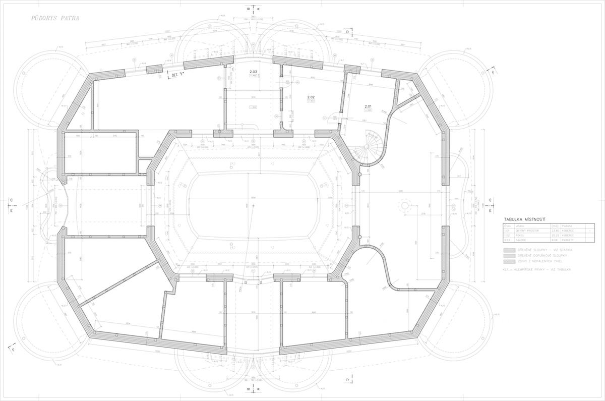 Plán domu poschodie