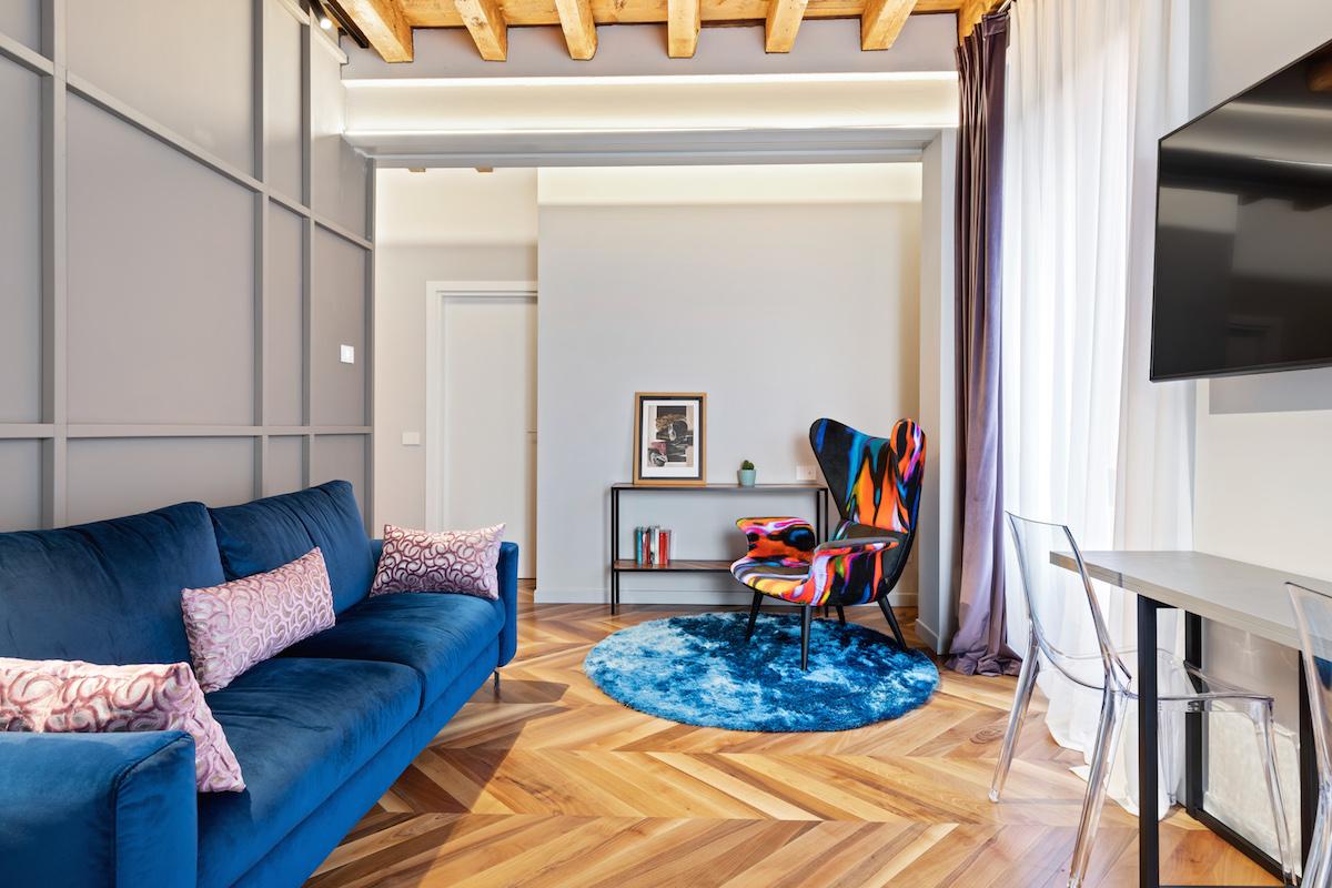 Eclettico appartamento con terrazzo – 5