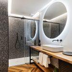 Terrazzový obklad v kúpeľni