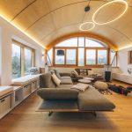 Útulná horská obývačka