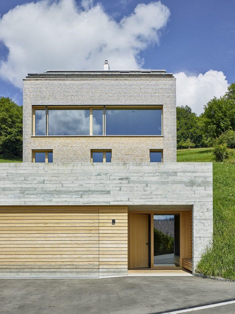Pasívny dom vo Švajčiarsku