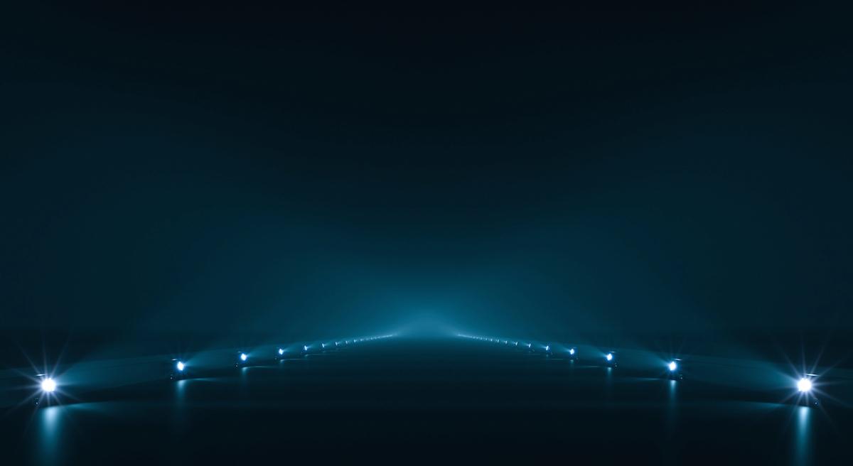 Futuristic pathway background