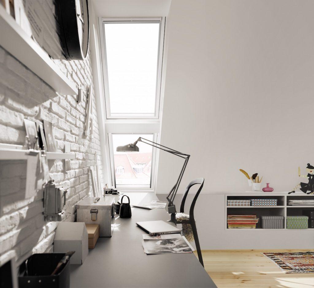 Velux strešné okno so zasklením 64