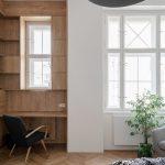 Biela adubová v interiéri