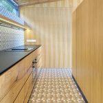 Kuchynská linka v dubovom vyhotovení