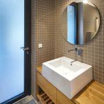 Kúpeľňa s jedným umývadlom