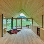 moderná drevostavba v Nemecku