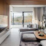 Obývací priestor s východom na terasu