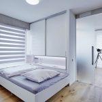 Spálňa s posuvnými dverami
