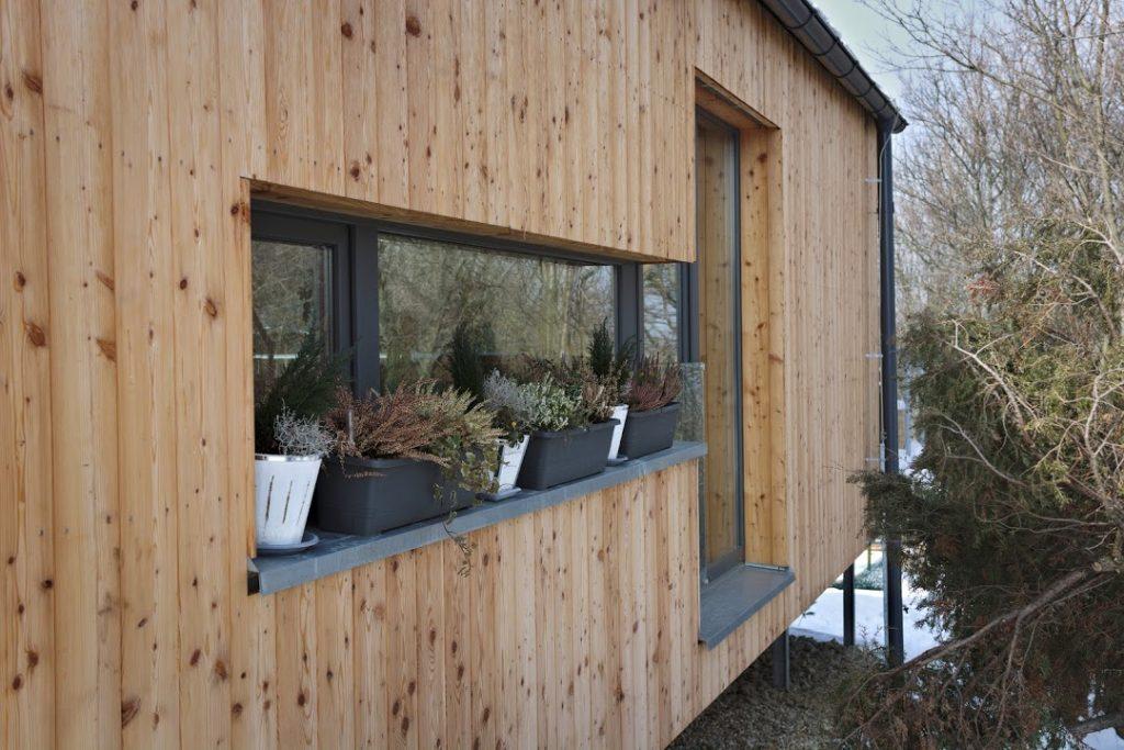 Okná na drevostavbe