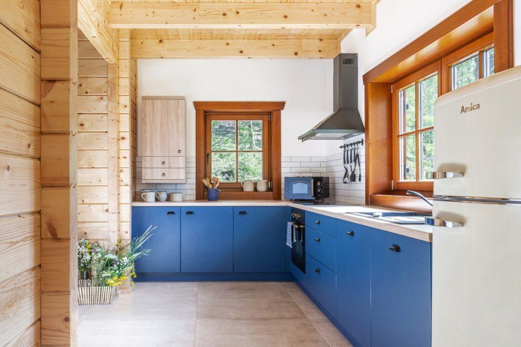 Kuchyňa s retro spotrebičmi