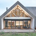 Moderná minimalistická stavba