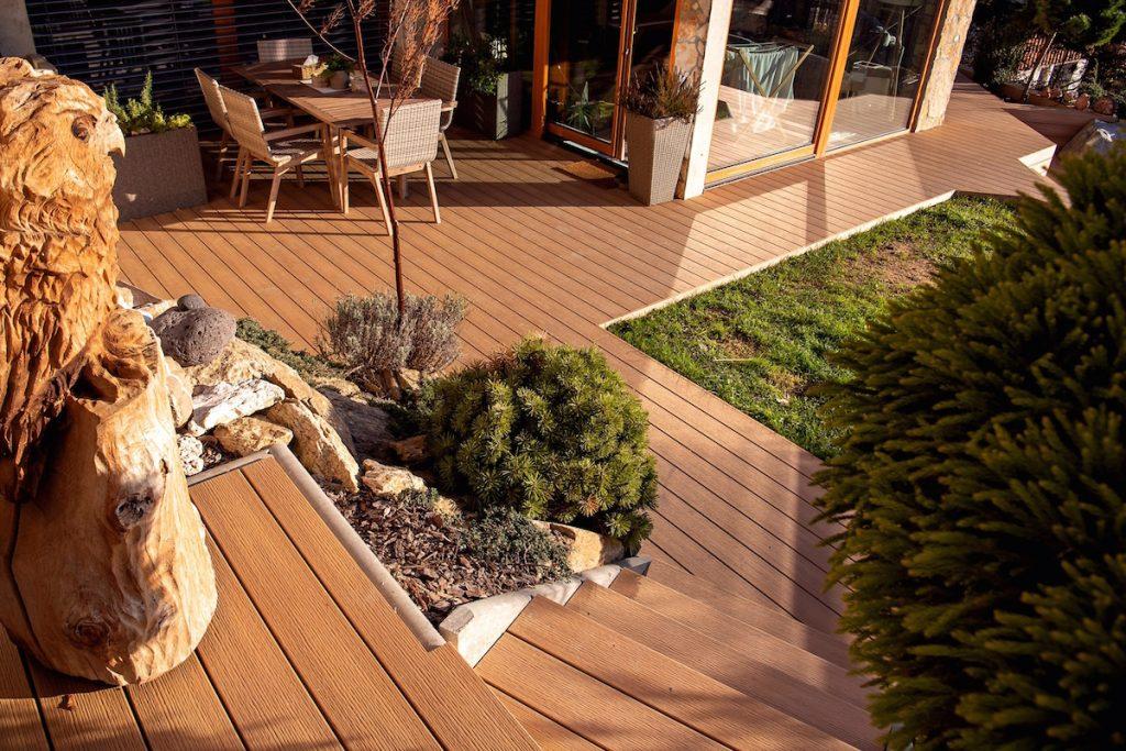 záhradná terasa