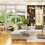 Otvorená obývačka s kuchyňou