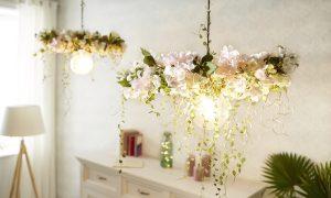 Oslavou jari môže byť aj krásna kvetinová lampa
