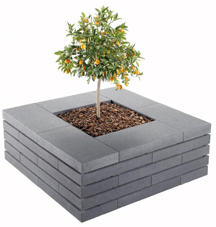 Moodul záhradný kvetináč