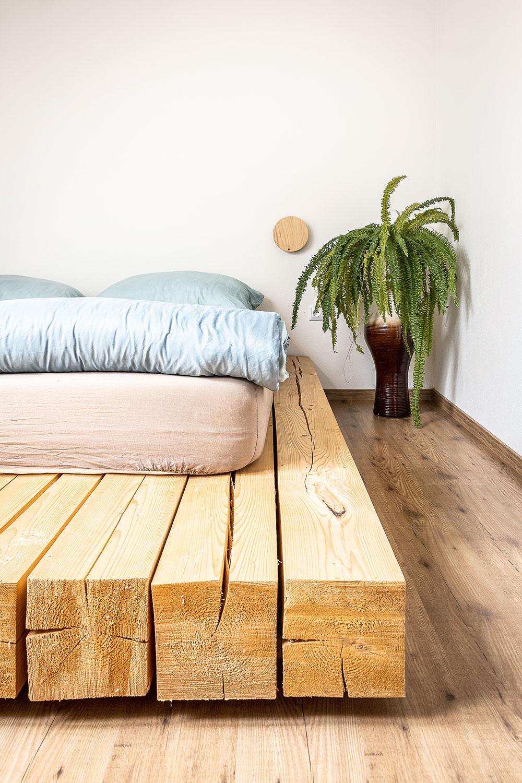 stavebné hranoly ako manželská posteľ