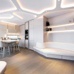 Moderný atypický sedací nábytok