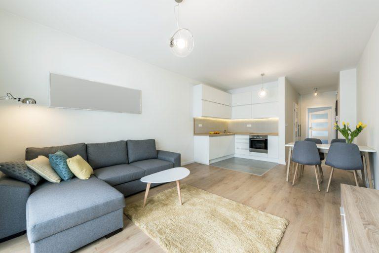 Zariaďujeme menší byt