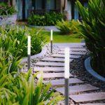 Záhradné svietidlá chodník