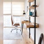 Pracovňa s dizajnovým nábytkom