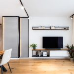 Obývačka v industriálnom štýle