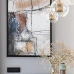 Obraz a dizajnové svietidlá