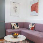 Obývačka s dielami