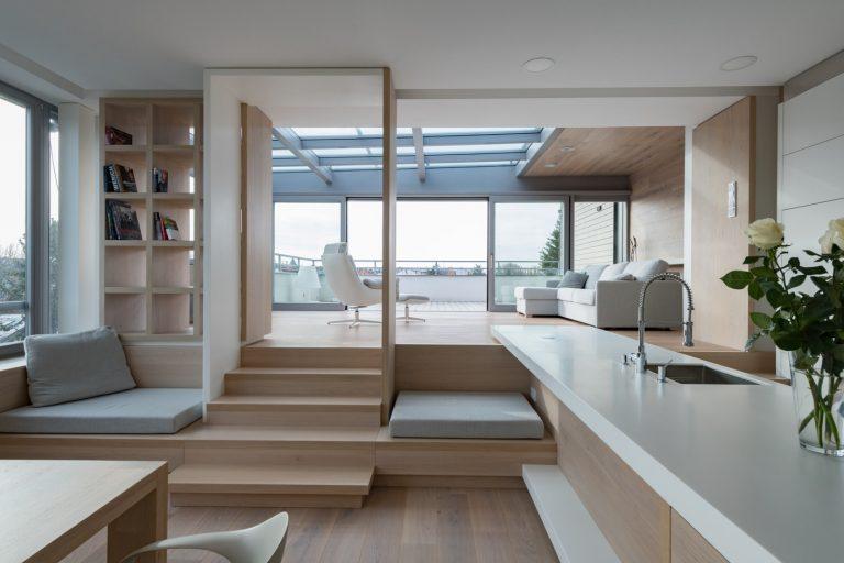 Súťaž Interiér roku: Byt pre dvoch ako oáza na streche