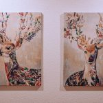 Obrazy s podobizňou jeleňa