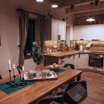 Kuchyňa s jedálenským kútom