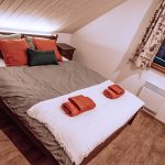Spálňa s vinylovou podlahou