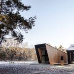 Dve chaty geometrických tvarov
