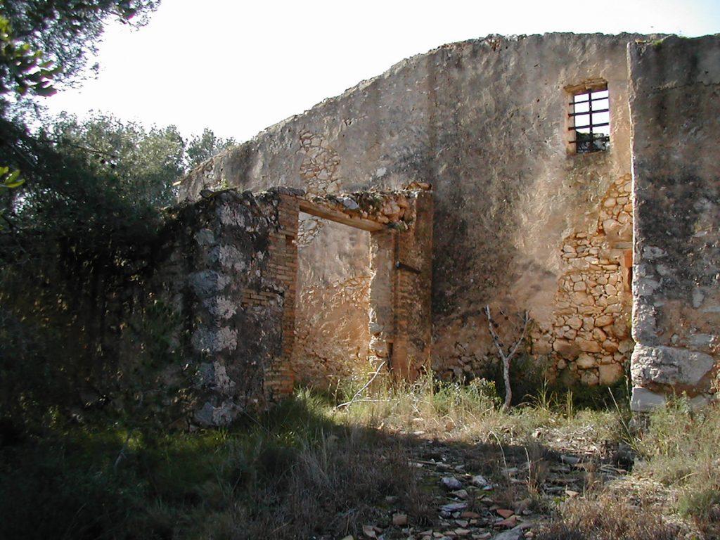 Pôvodná ruina domu