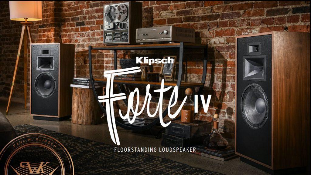 Klipsch Forte IV. Hi-Fi, čo poteší aj oči