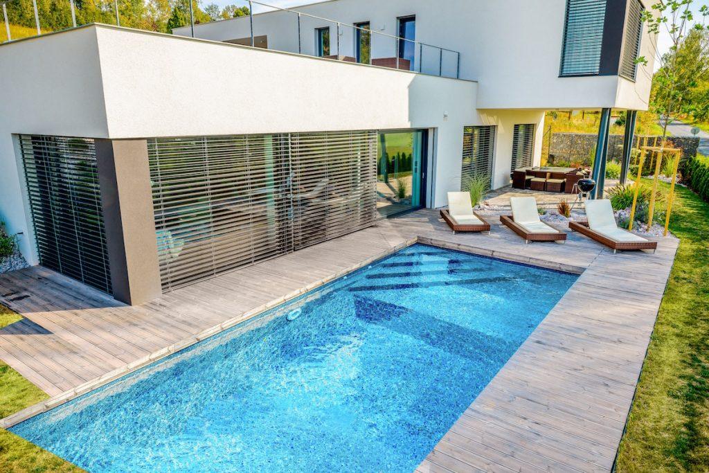 Stavebnicový bazén radu Mercury, model Porto