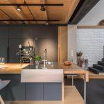 Barový pult v kuchyni