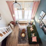 Vysoký strop v malom byte