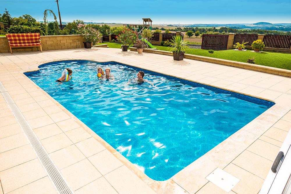 Dizajn-kompozitný bazén Métropole