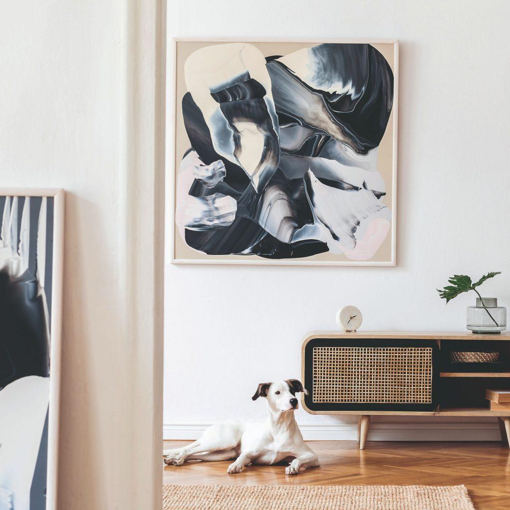 retro obývacia izba