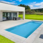 Stavebnicový bazén řady Mercury, model Algarve