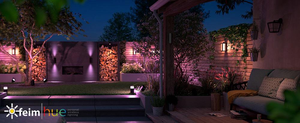 outdoor inteligentné osvetlenie