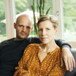 Frauke s manželom.